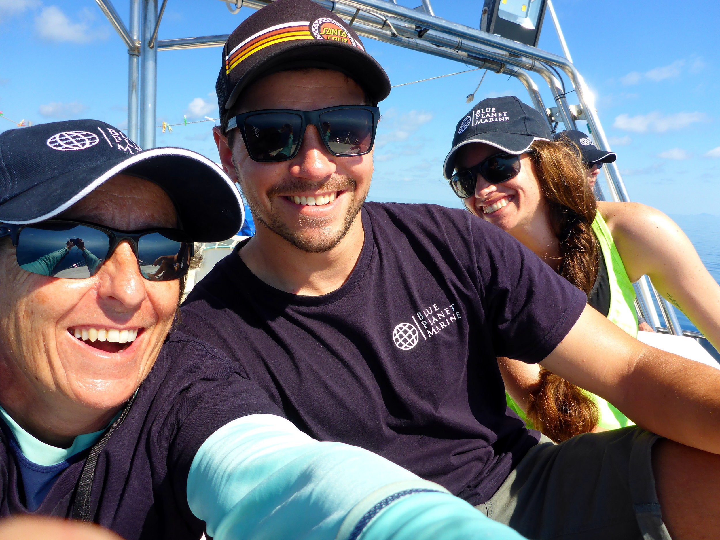 Virginie selfie with Damo and Dana -© Virginie Rousseaux.jpg