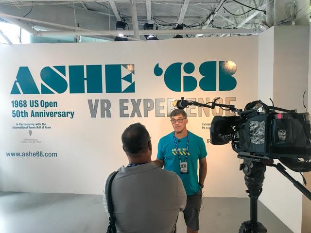 VR Director Brad Lichtenstein interviewed by WCBS-New York.