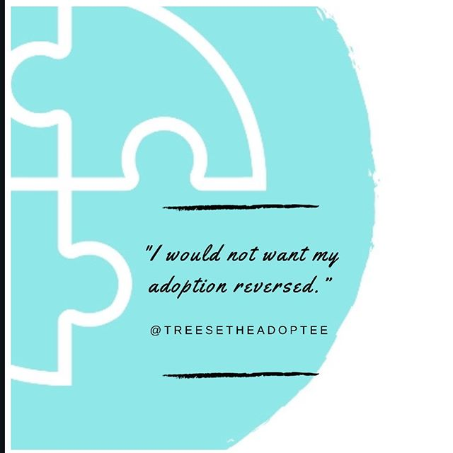 There has been much discussion surrounding the ability to reverse adoptions. Usually this is done with a petition to the court requesting to annul the adoption. I've seen a lot of mixed responses from adoptees regarding this. I for one would not like to my adoption reversed. My biological mother made a decision she thought was best for me and I couldn't agree more. The only benefit would be having an unaltered Birth Certificate. I never understood the need for a complete replacement of a Birth Certificate. We adoptees definitely still NEED our originals. #voicesofadoption #adopteevoices #bepartofthesolutionafc