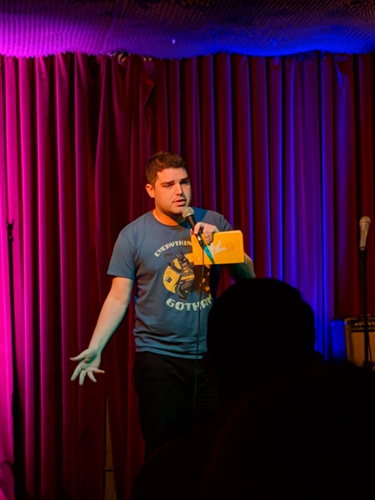About - Johnathan Appel is a comedian and writer based in New York City. He looks like