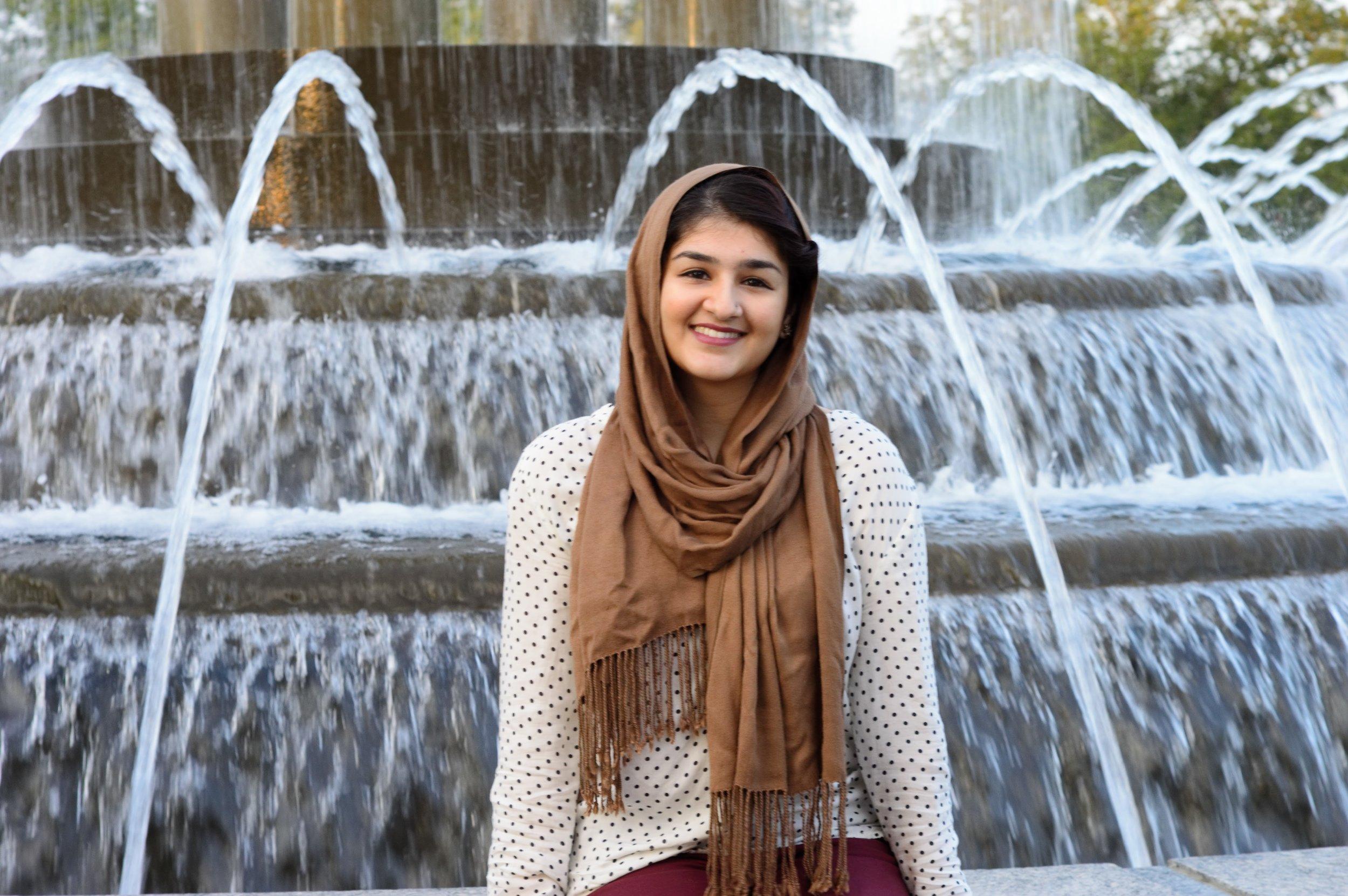 Nabiha Kahn  - Photo by Safia Ghafoor