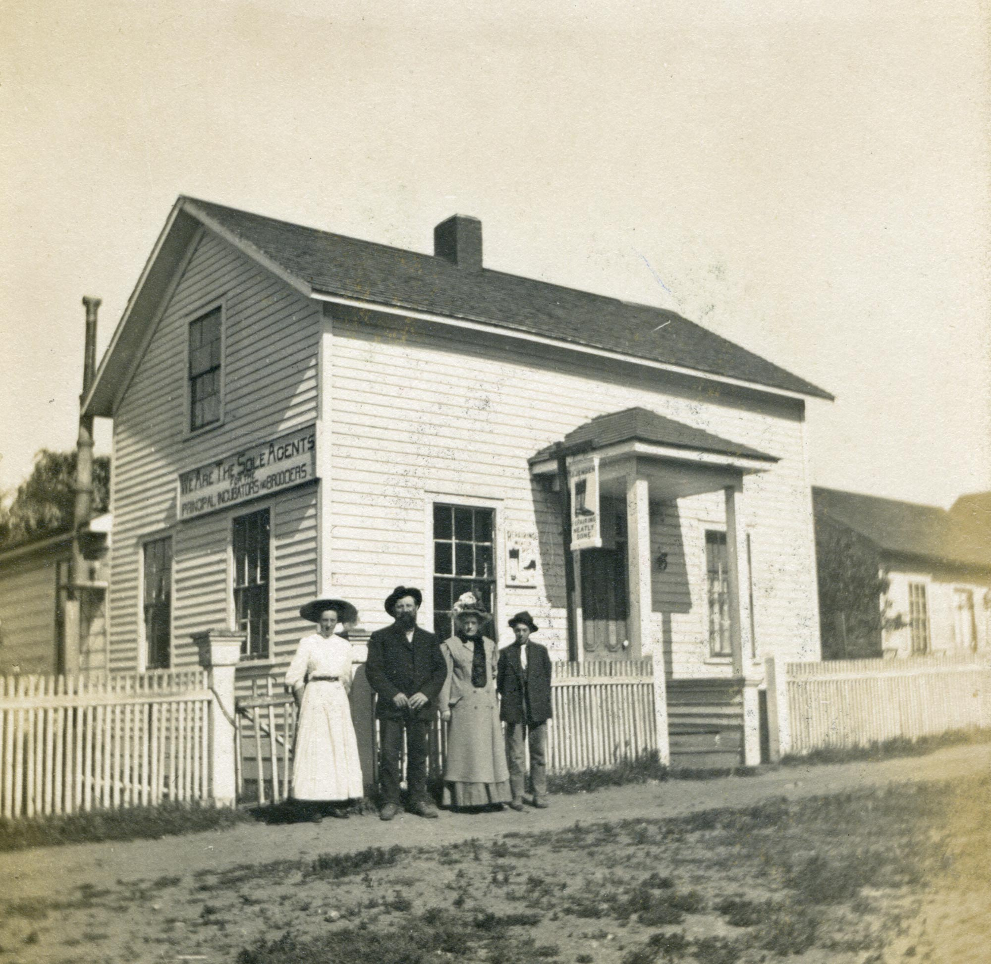 Jorgen Jensen Family and House