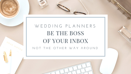 checklist 20 email templates every wedding planner needs