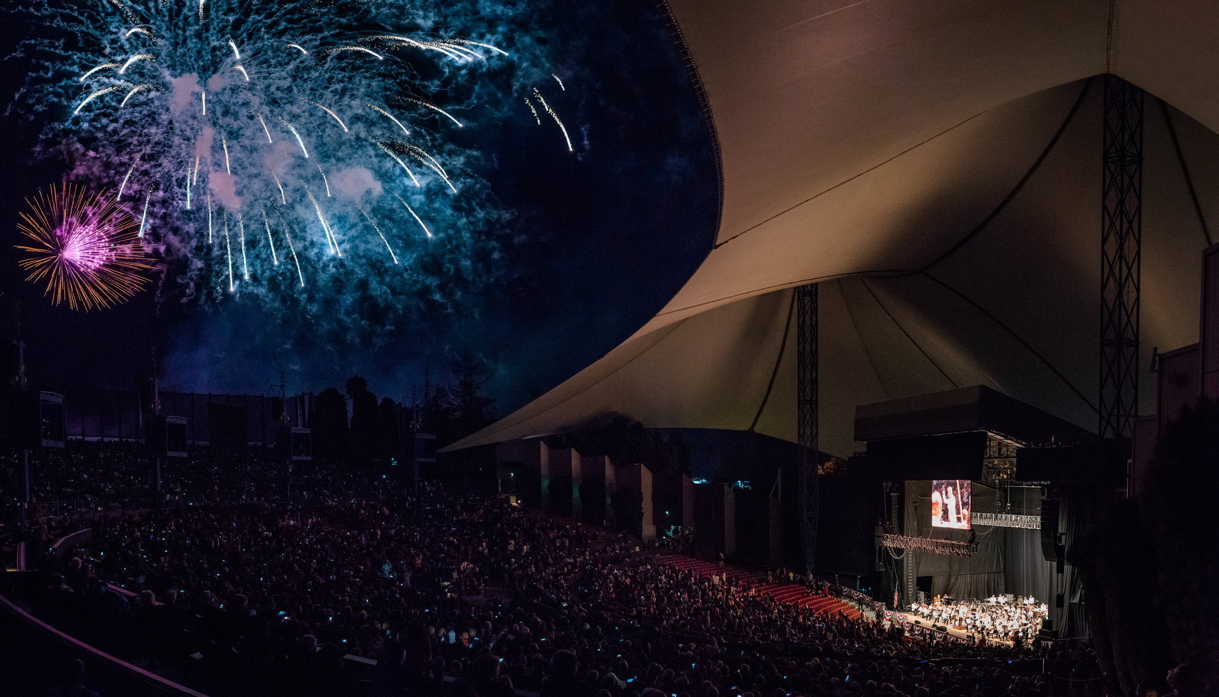 Fourth of July Spectacular at the Shoreline Amphitheater