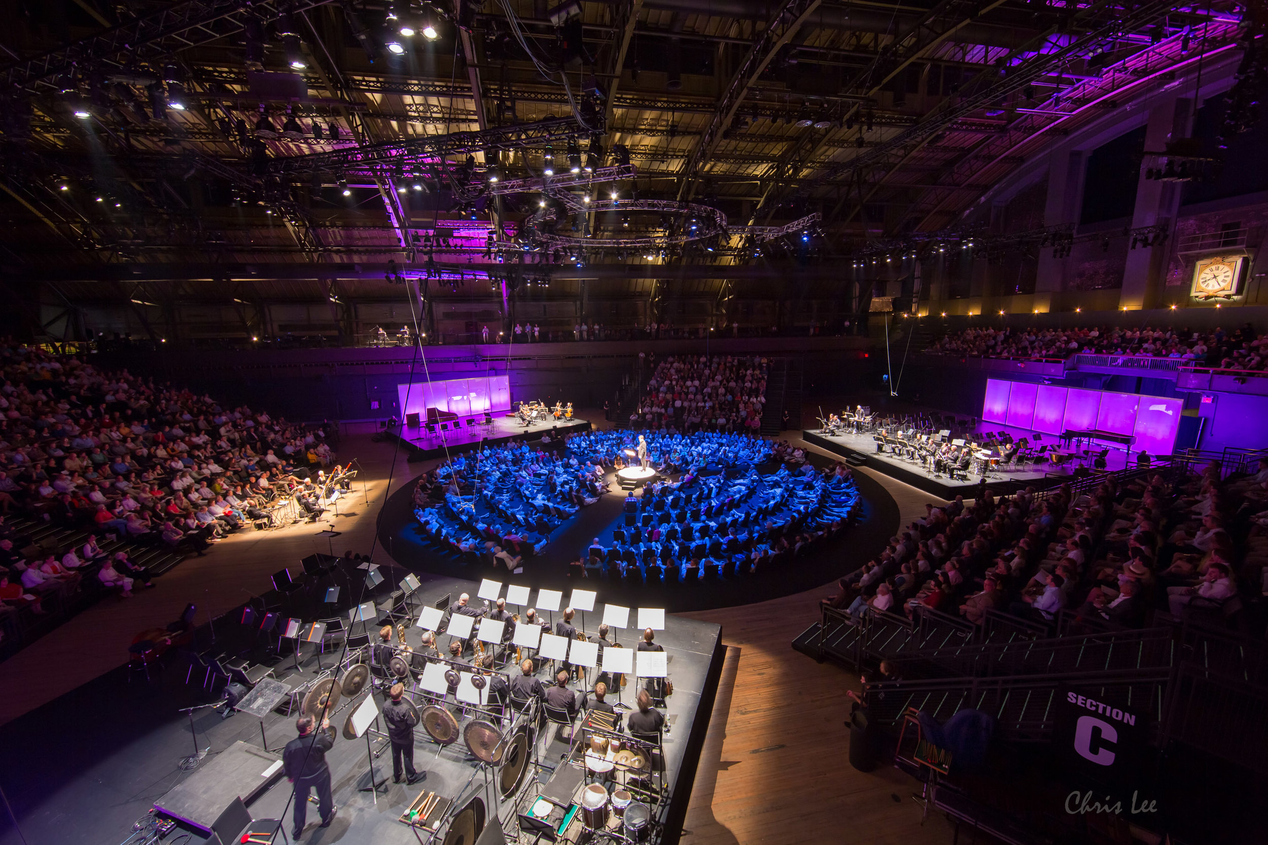 """""""Philharmonic 360"""" at the Park Avenue Armory"""