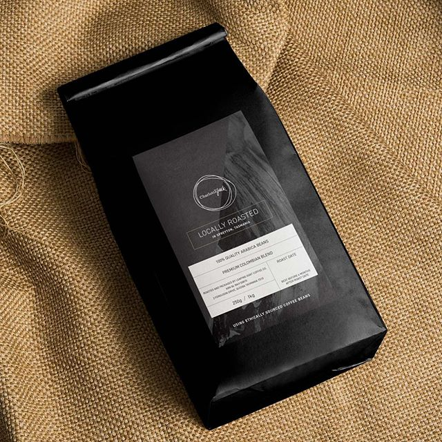 Packaging design for CharlotteJack, featuring local @leapinggoatcoffee coffee beans. #cultivateproductions