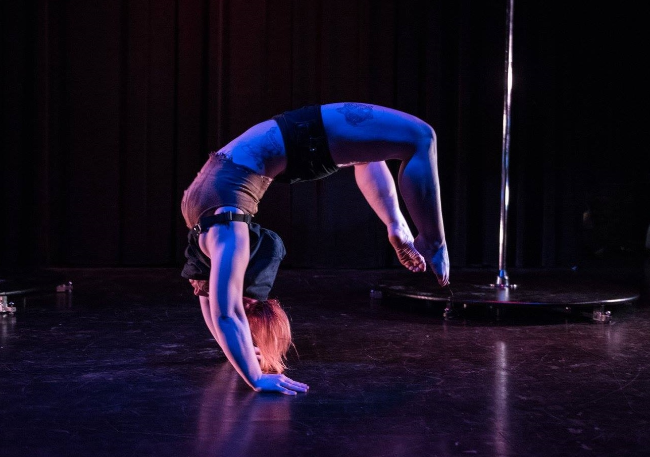 Pole dancers take center stage at the Blue Note -