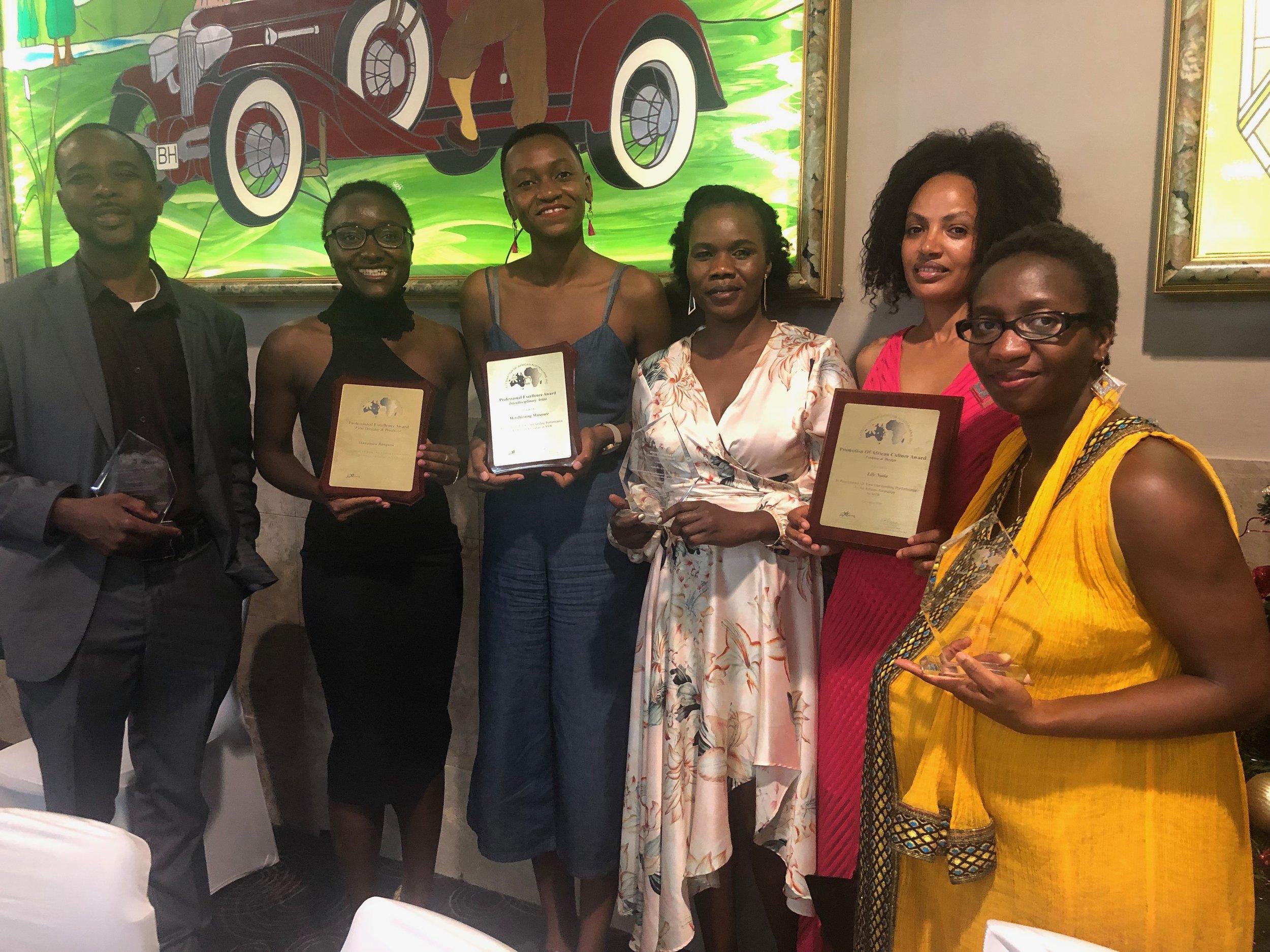 Afro Sistahs at Celebrating Afro Australian Awards