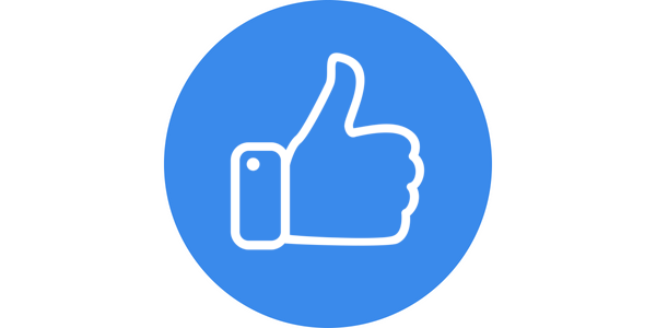 Blue Image White Wide Background Template Thumbs Up.png