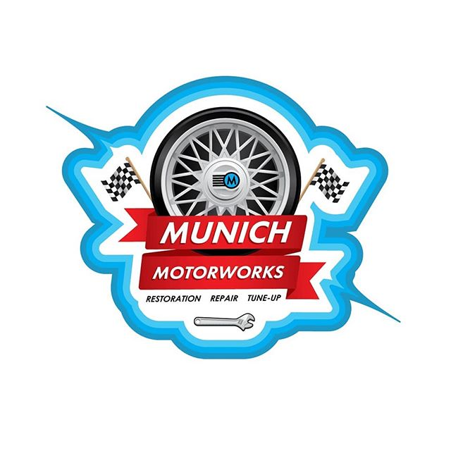 Munich Motors #design#illustrator#europeancars#finishline#art#mechanic#mechanicshop#bmw#audi#mercedesbenz#porsche