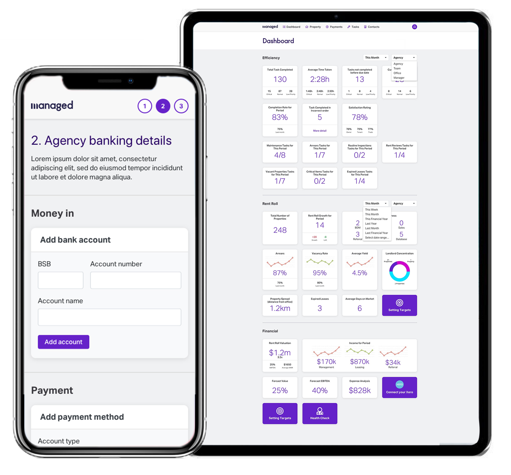For Agencies - Understand the business. Next level control, insights and performance from one simple dashboard that will drive efficiencies and growth.