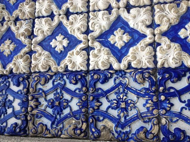 ポルトガルはどこもかわいいタイルでいっぱい
