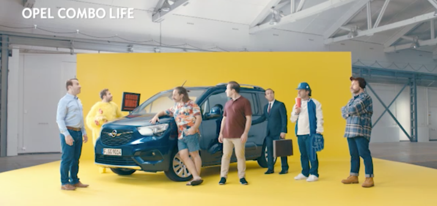 Opel Combo Life - My voice on wheels