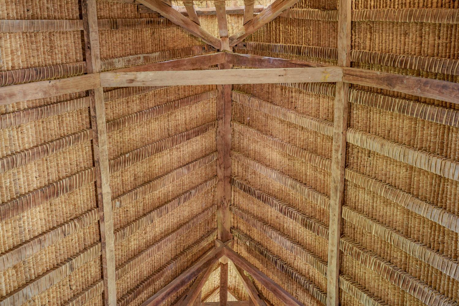 "handmade grass roof ""alang-alang"""