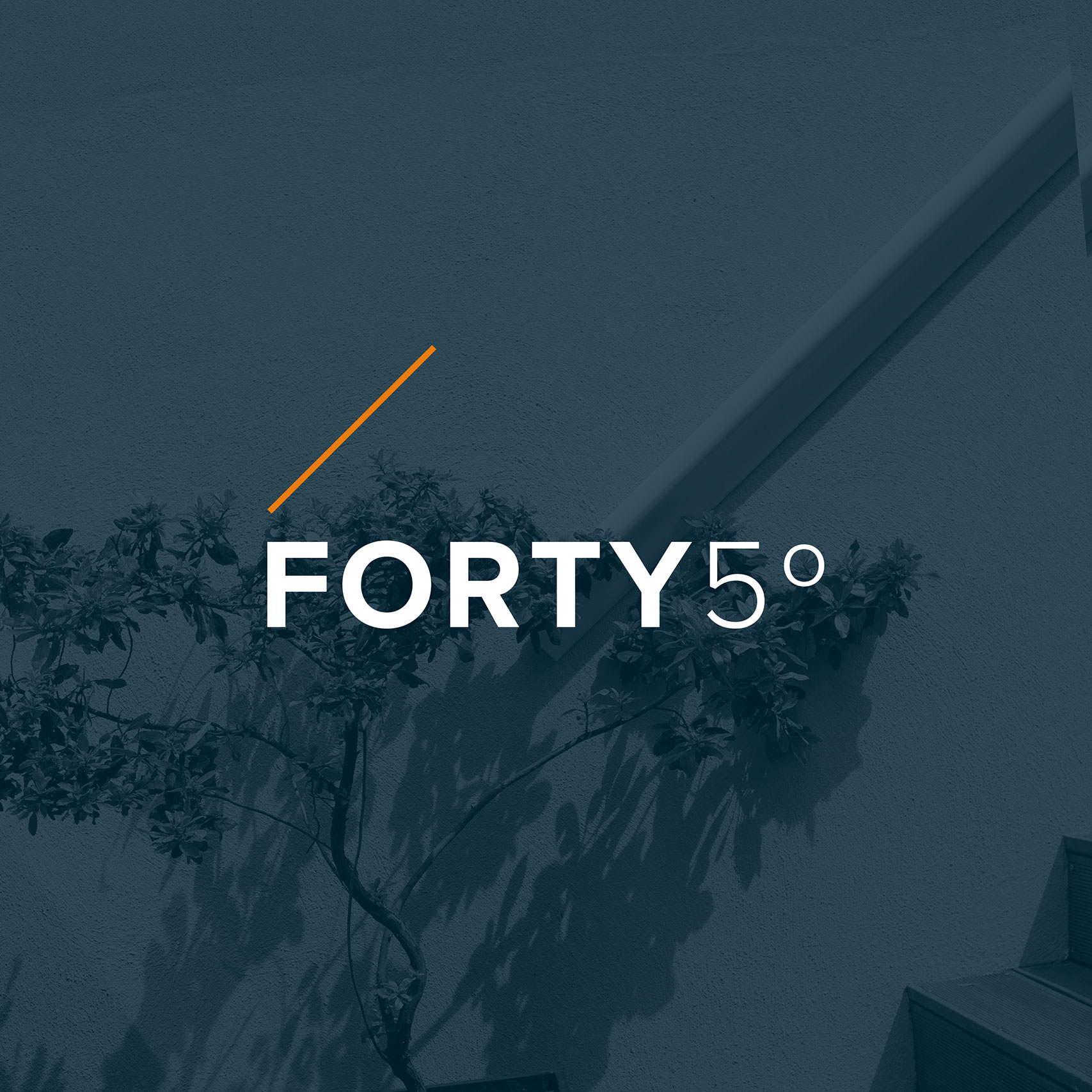 Affordable logo design for Forty5 Degrees London