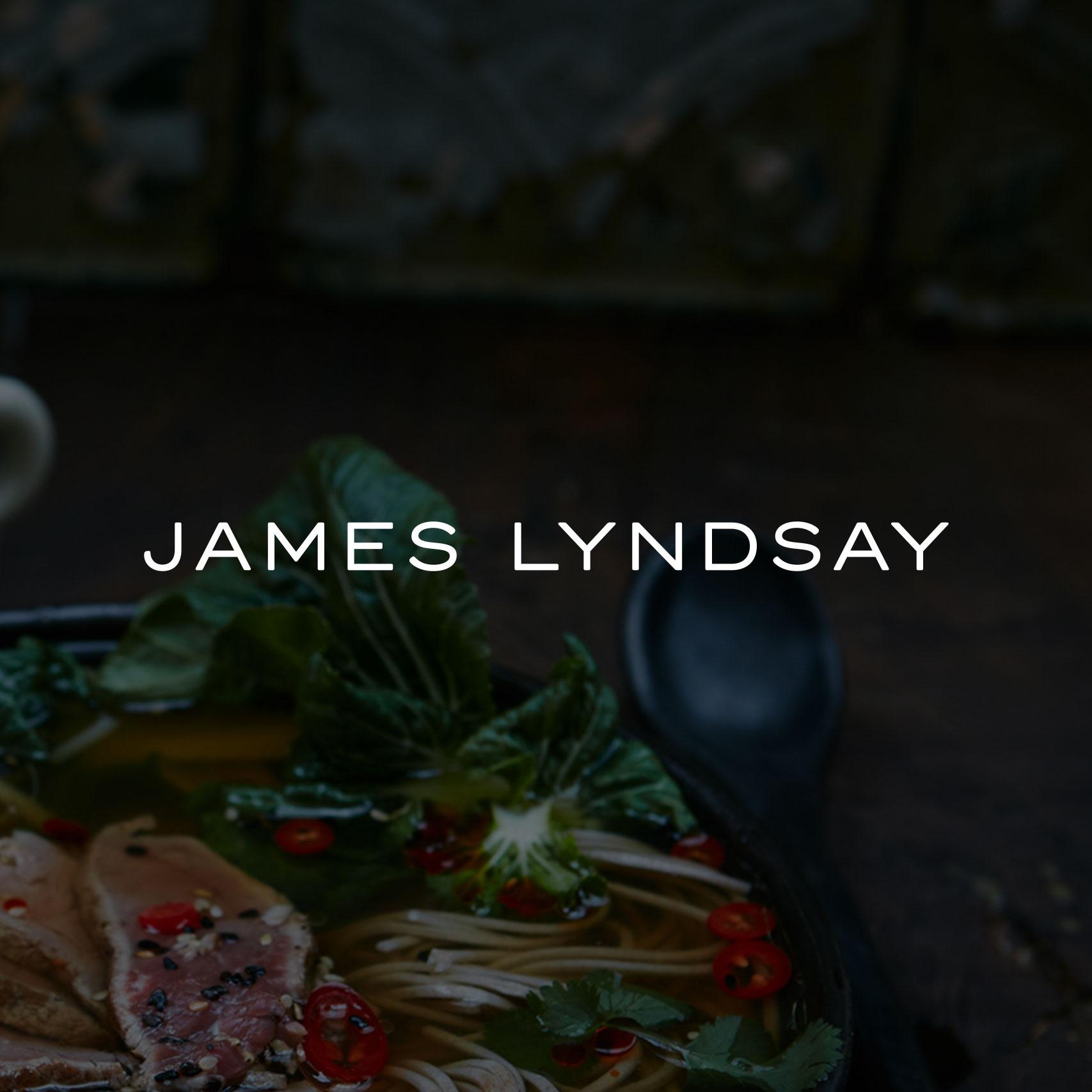 Modern logo design for James Lyndsay