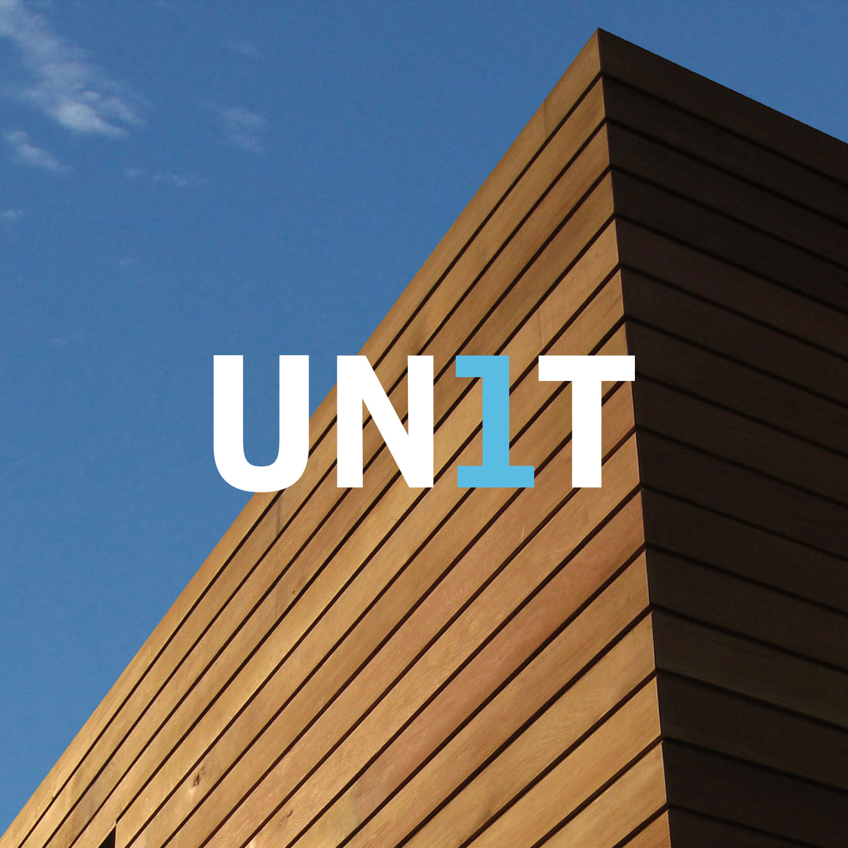 Creative affordable logo design for Unit 1 Architects