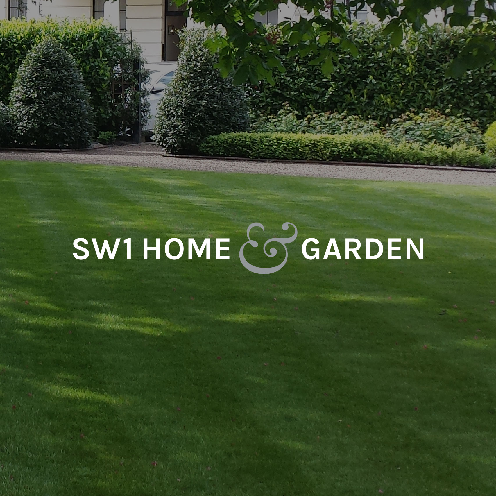 Clean affordable logo design for SW1 Home & Garden London