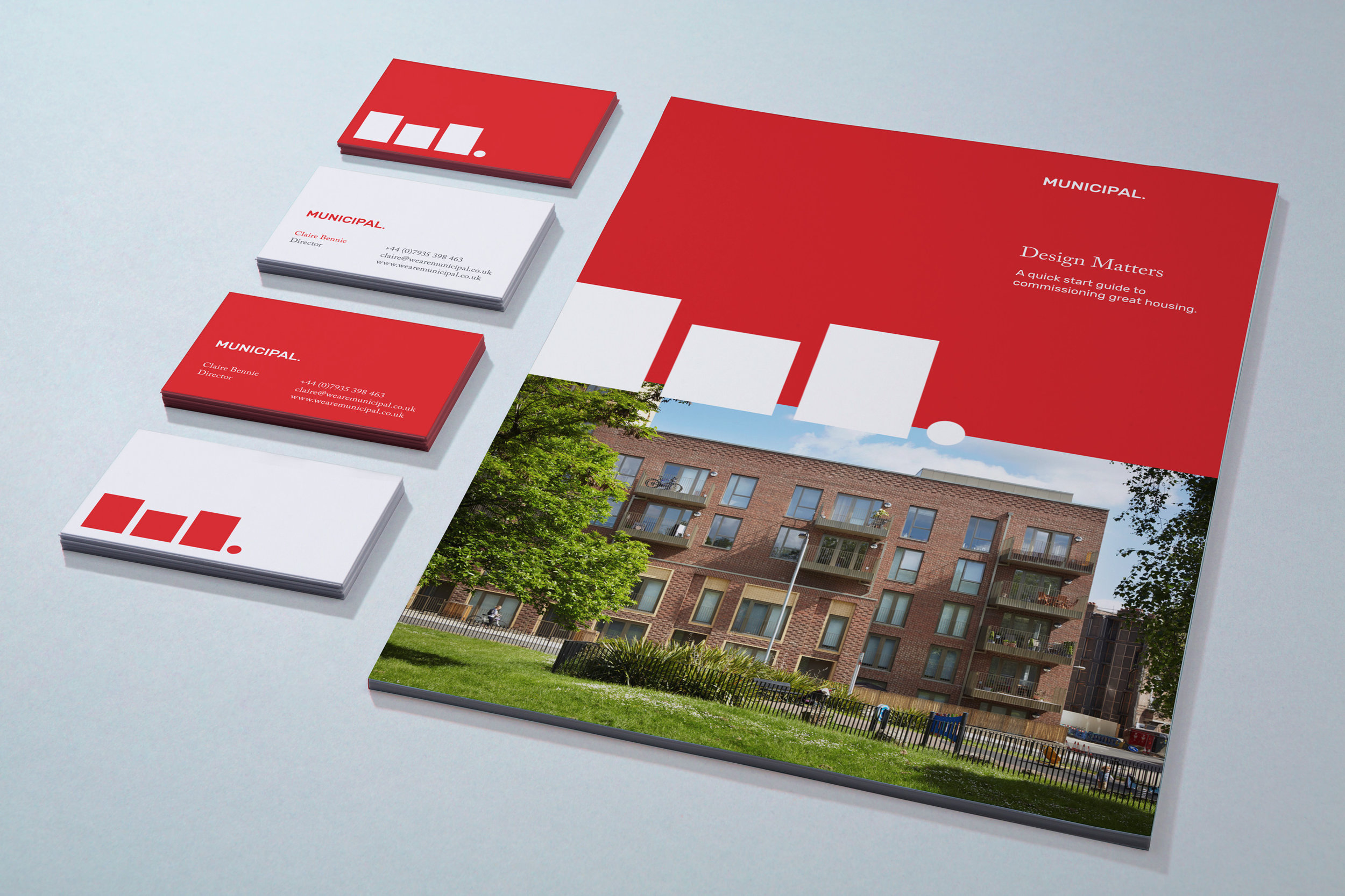 Modern affordable graphic design for Municipal London