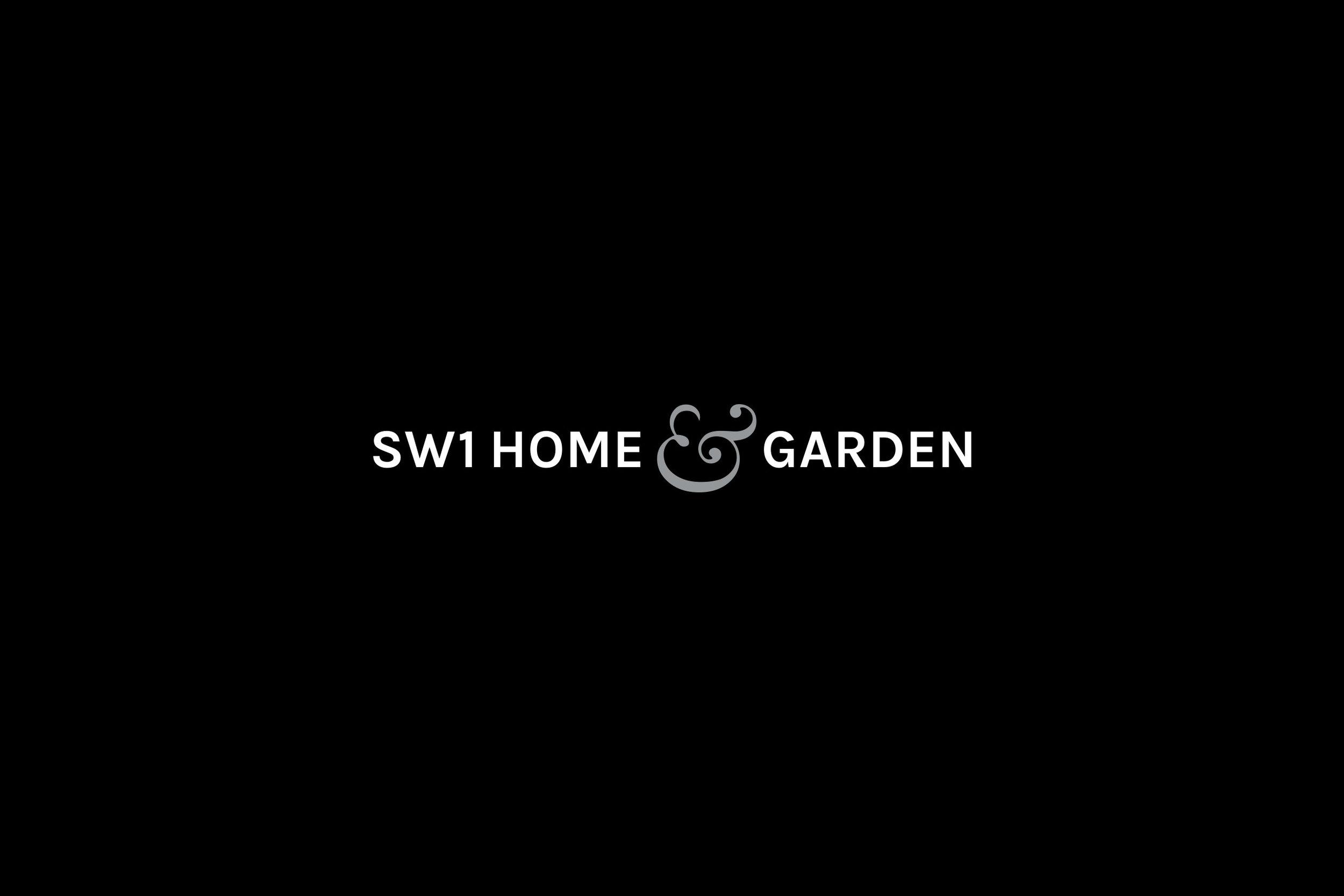 Logo branding design for SW1 Home & Garden London