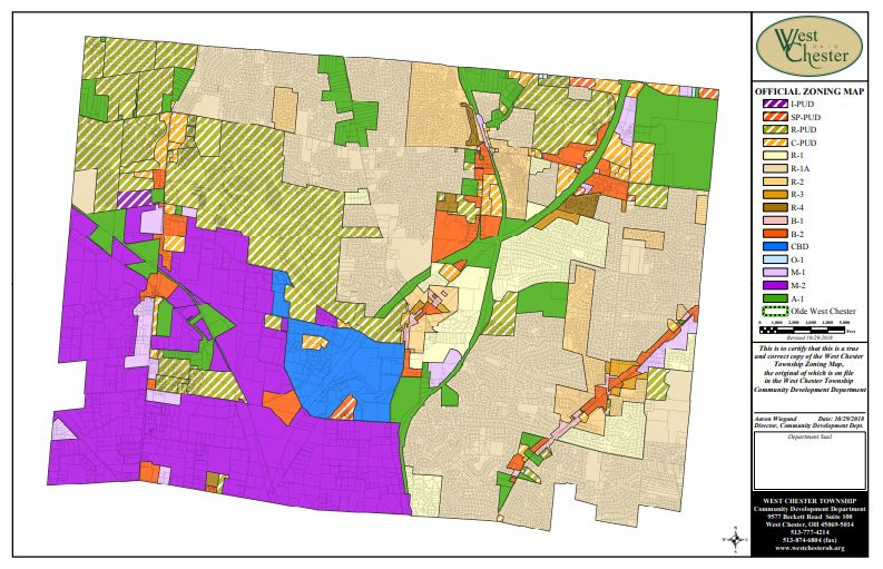 West Chester Zoning Map.JPG