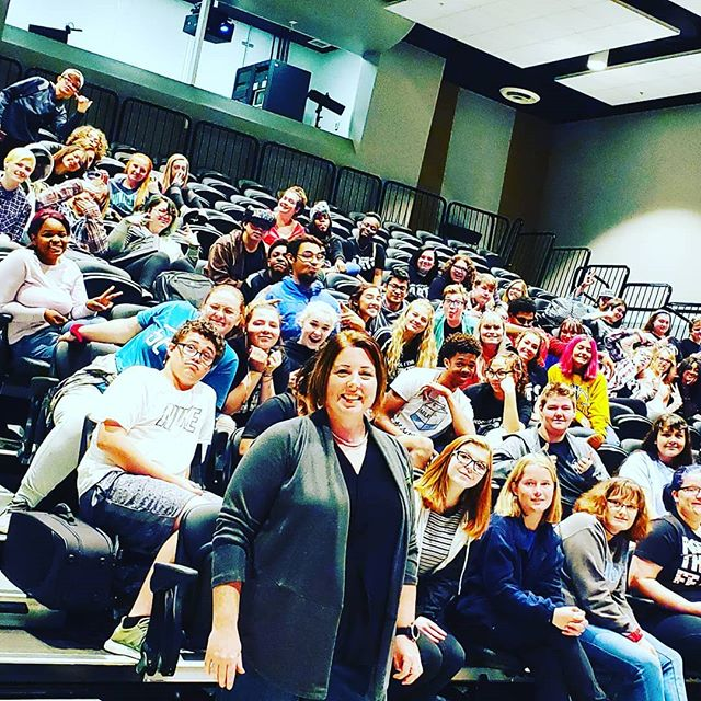 I had a wonderful morning teaching about local government to students at Butler Tech School of Arts. What a great group of kids!