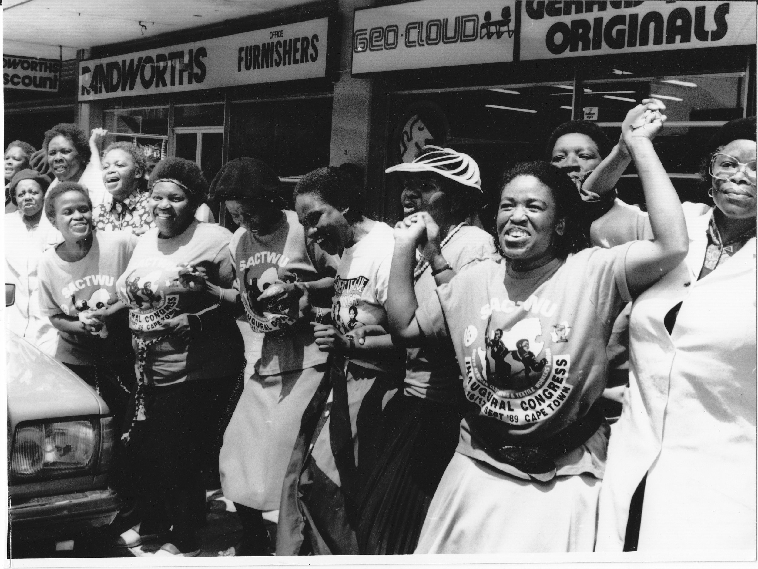 1991 Human Chain in the Western Cape.