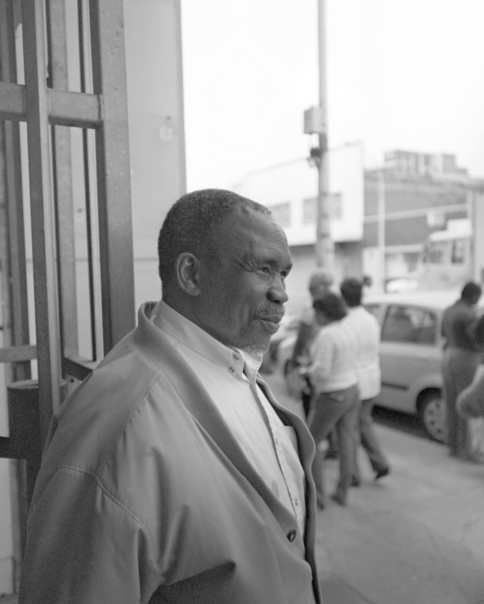 Andrew Mndeni Joyisa, awarded 'Longest Serving Shop Steward' Award at 10th COSATU Congress, 2009.
