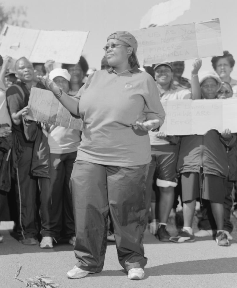 Petunia Lorato Ngwato, 2009 National Clothing Strike, Jaff and Company, Kimberley