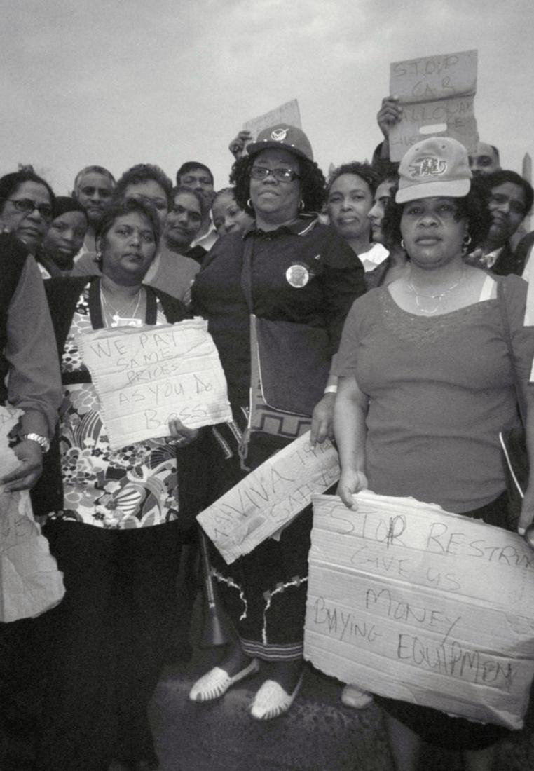 Beauty Ntombizodwa Zibula, 2009 National Clothing Strike, Prestige Clothing, Durban