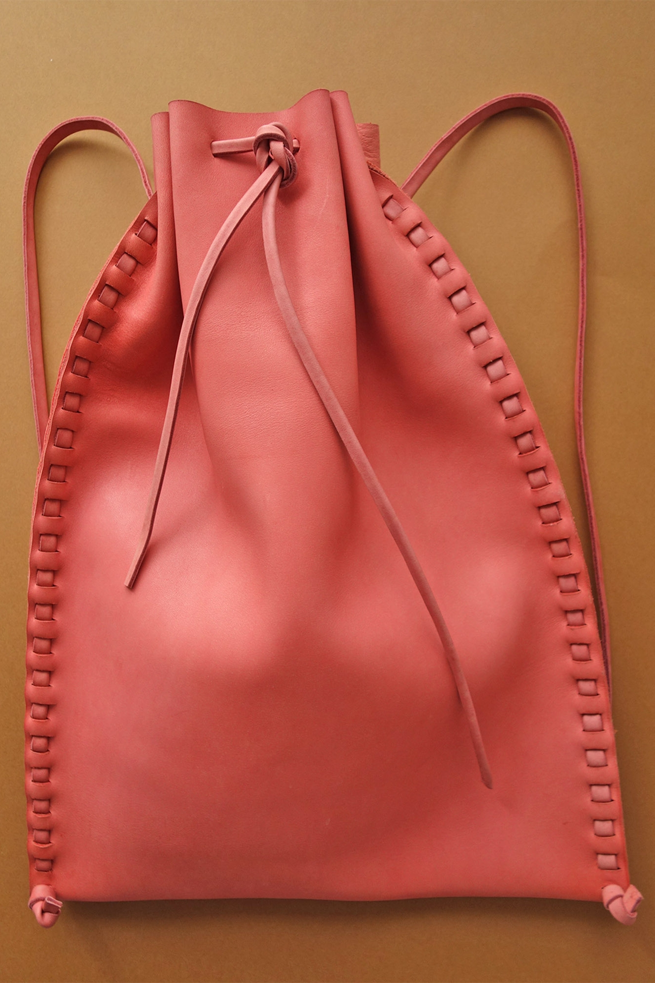 Leather Bags - Leather bags handmade without a stitch.