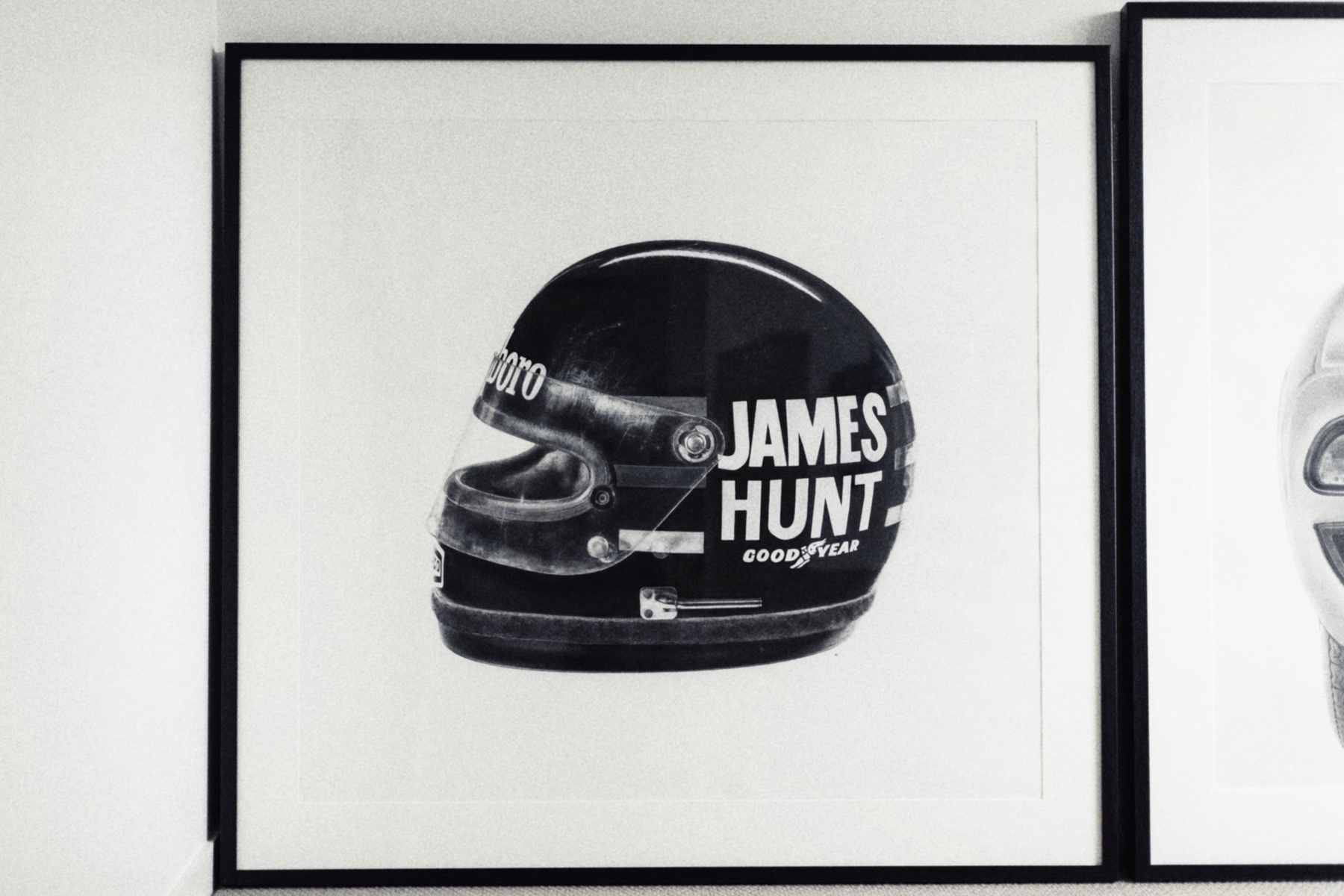 James Hunt 1976 Championship Helmet info + enquiries