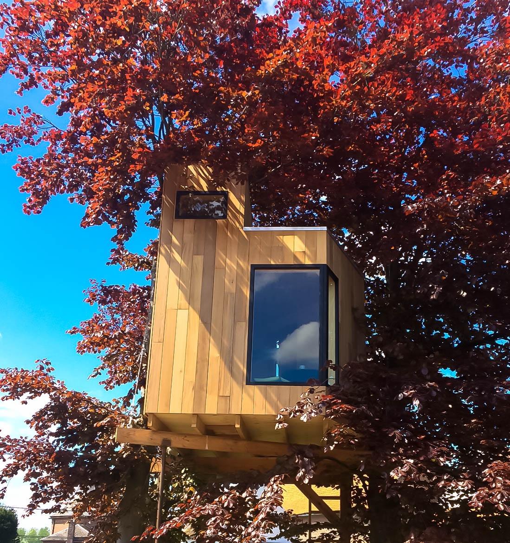 boomhut Heers - klik voor meer foto's