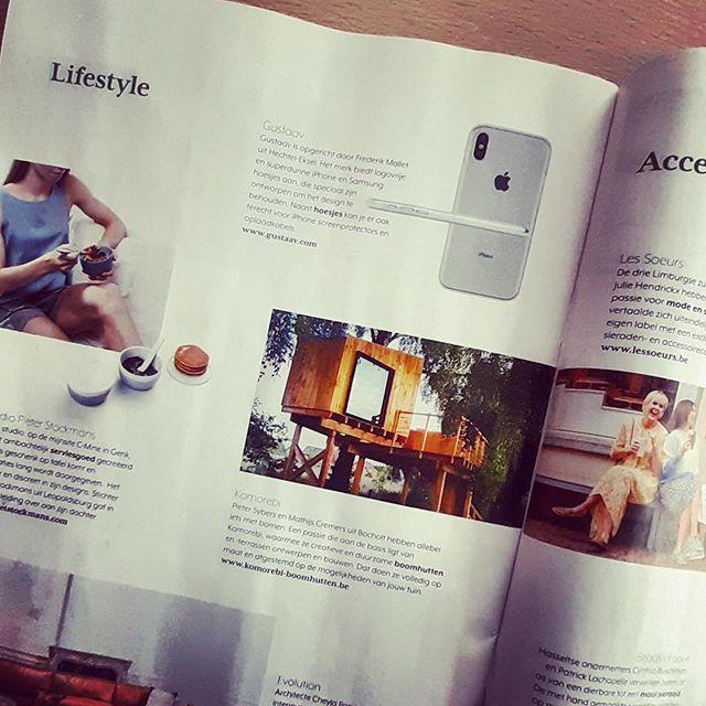 Ons al gespot in #puurmagazine #flashmagazine? Ze brachten een stuk rond #ikkooplimburgs!!