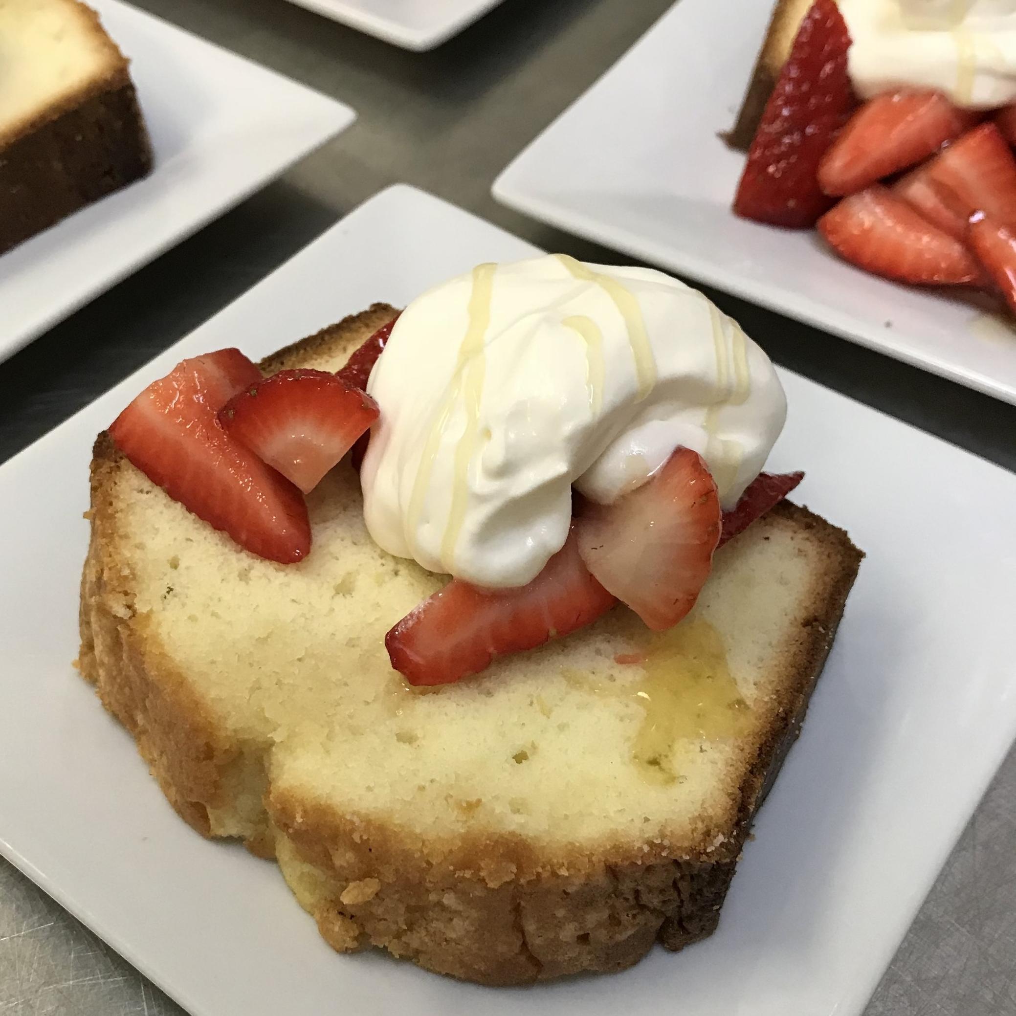 Honey Vanilla Pound Cake . Back to Basics . Week 1