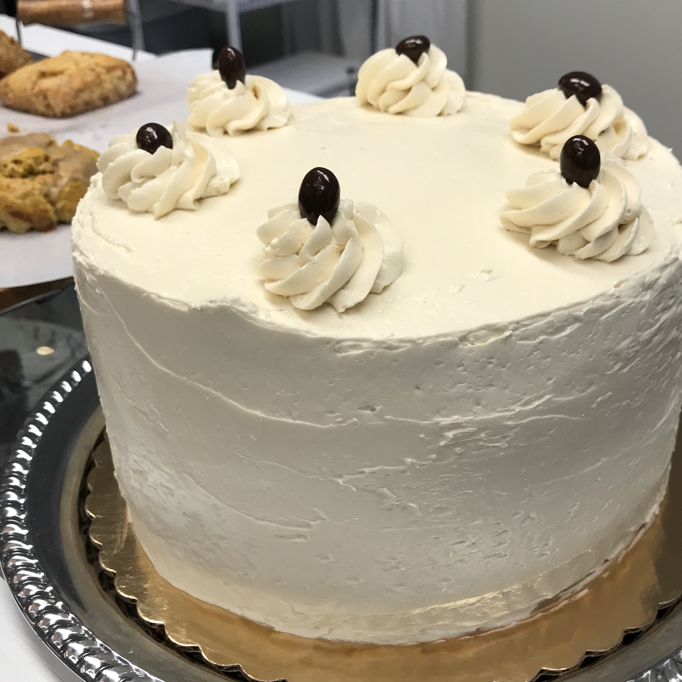 Devil's Food Cake with Coffee Meringue Buttercream . Cooking for Jeffery . Week 3
