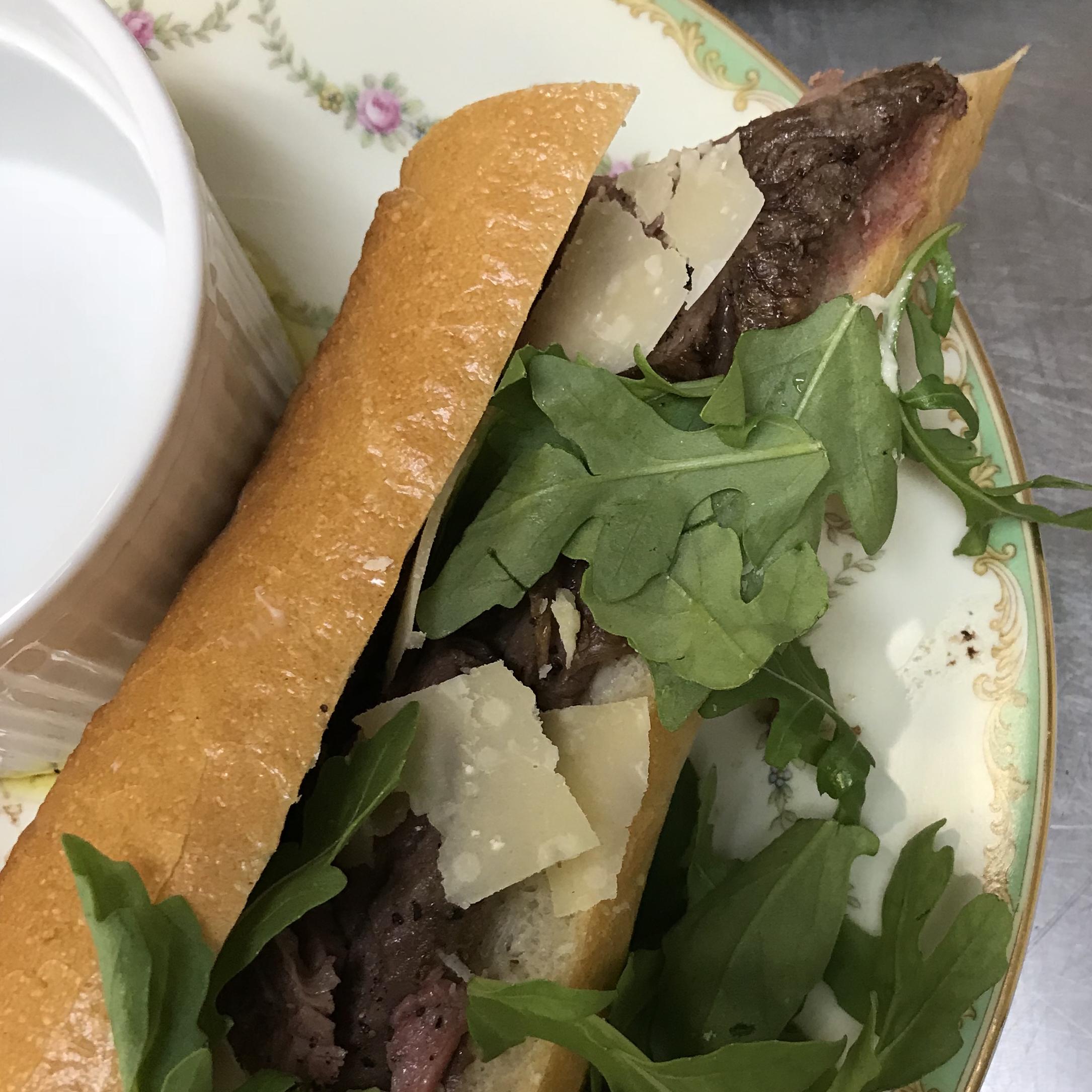 Truffled Filet of Beef Sandwiches . Back to Basics . Week 3