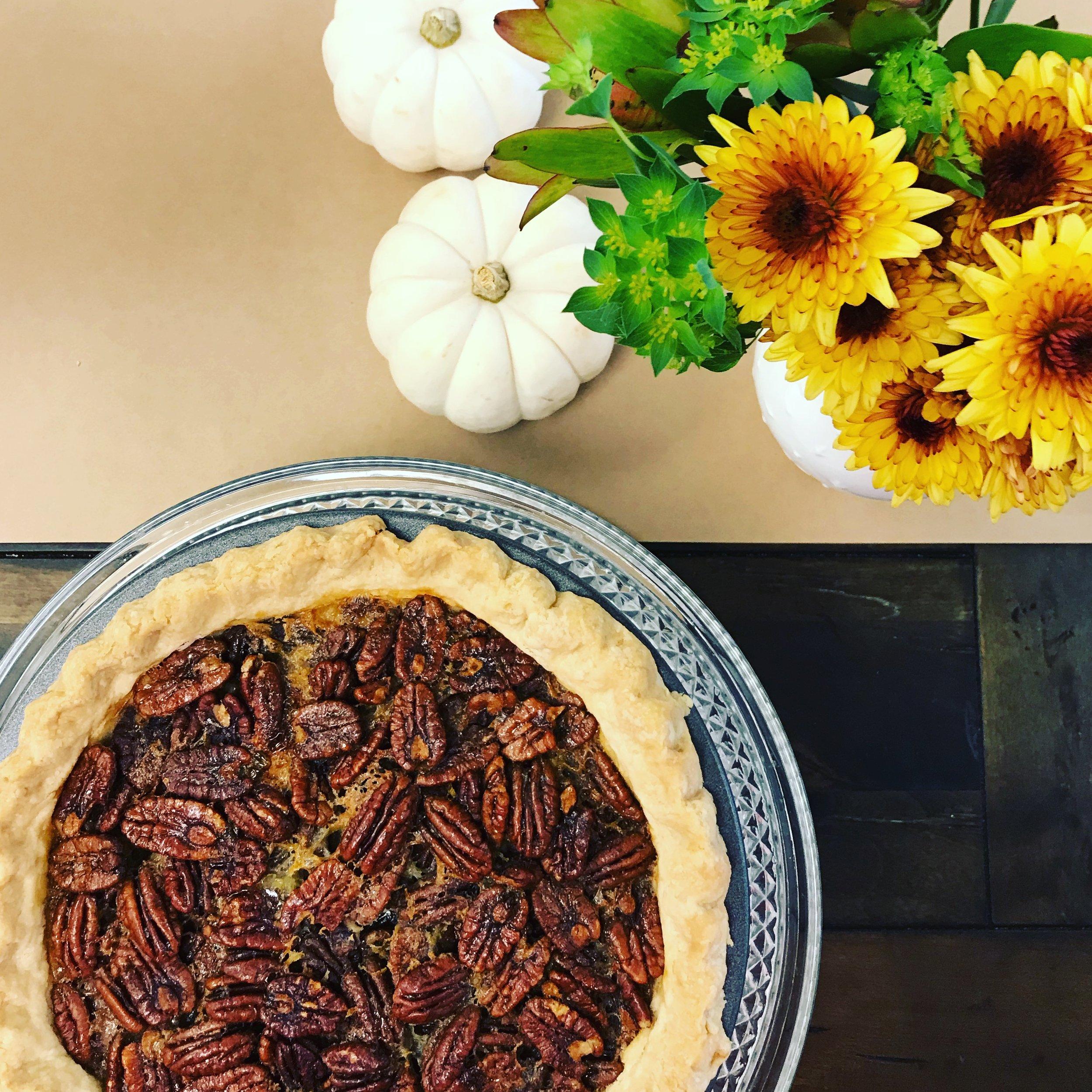 Maple Pecan Pie . Barefoot Contessa Foolproof . Week 4