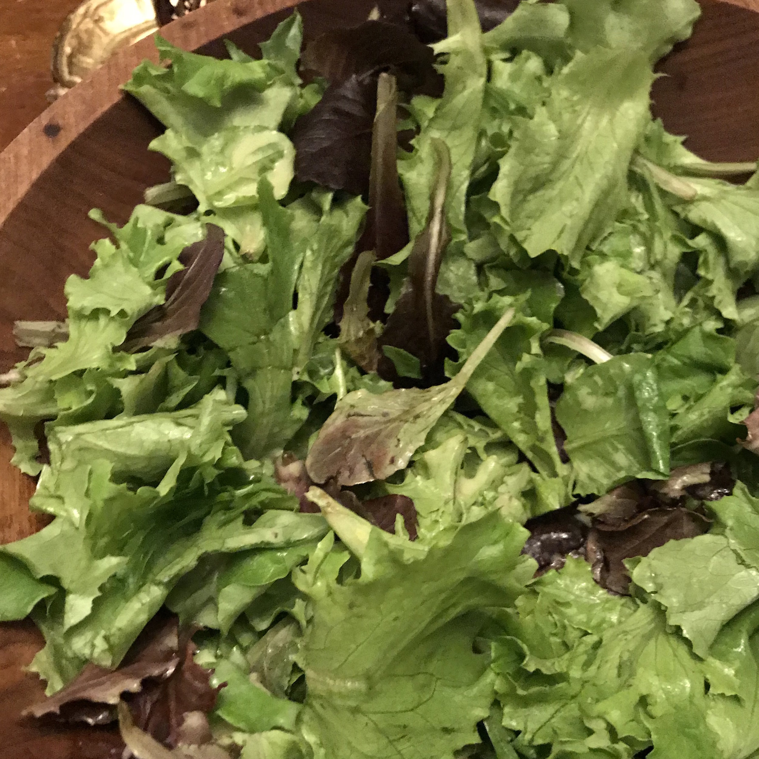 Green Salad Vinaigrette . Barefoot in Paris . Week 5