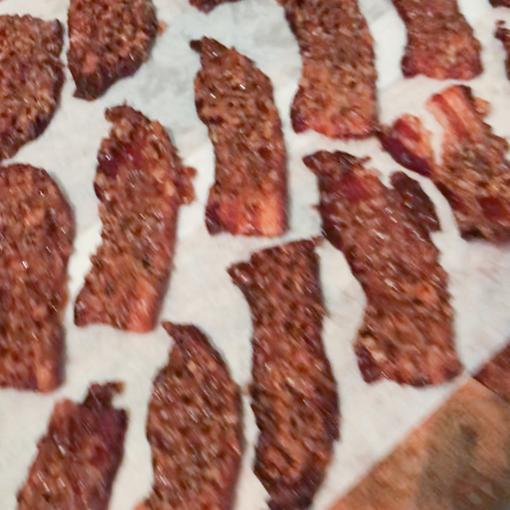 Caramelized Bacon . Barefoot Contessa Foolproof . Week 5