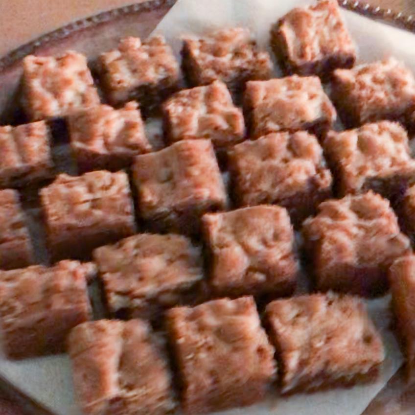 Chocolate Chunk Blondie Bars . Barefoot Contessa Foolproof . Week 5