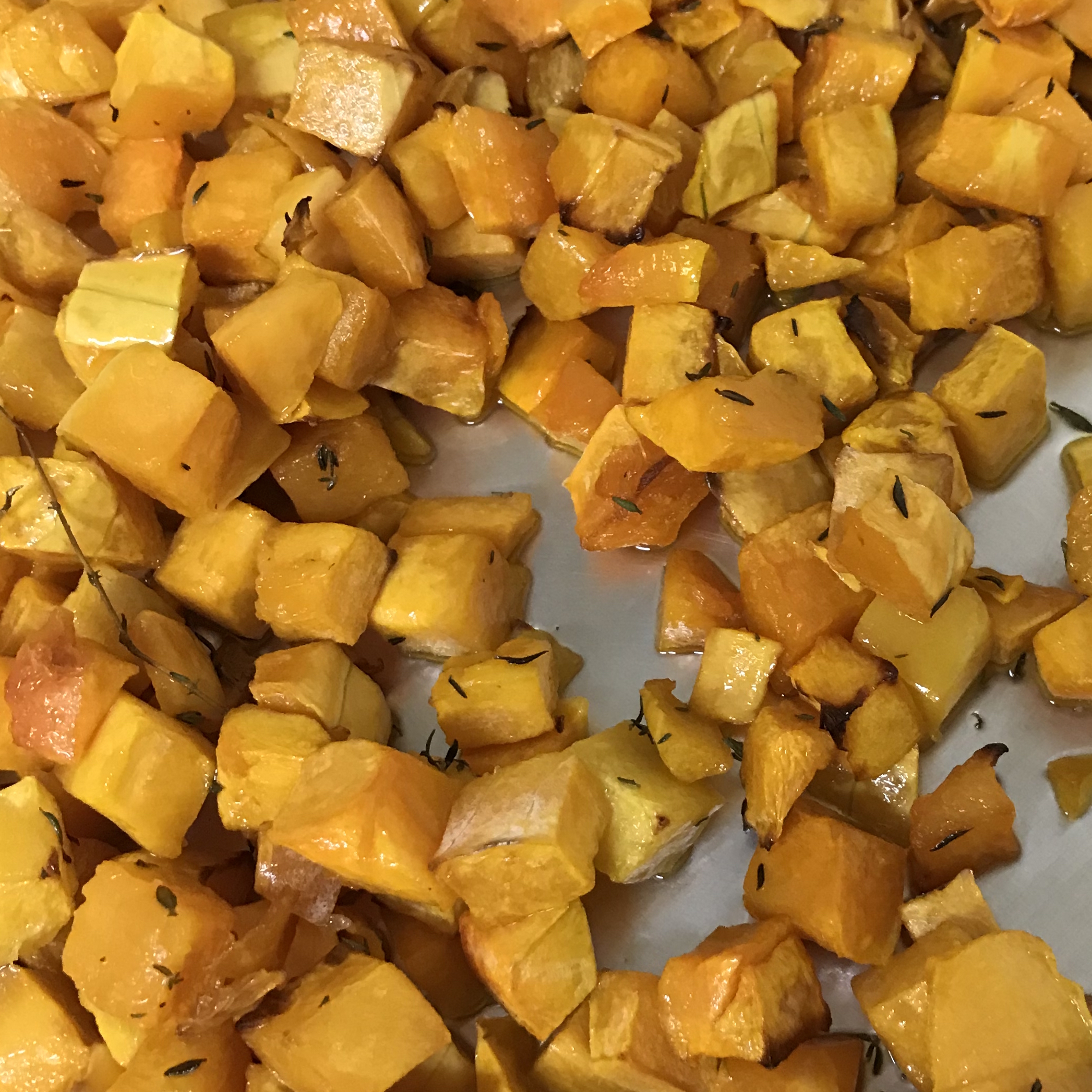 Roasted Butternut Squash . How Easy Is That? . Week 5