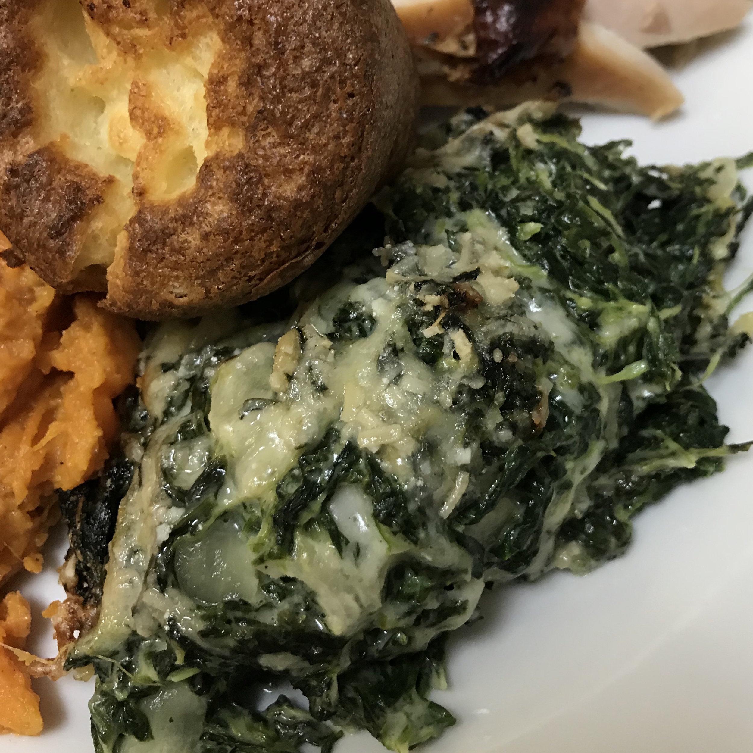 Spinach Gratin . Barefoot Contessa Parties! . Week 6