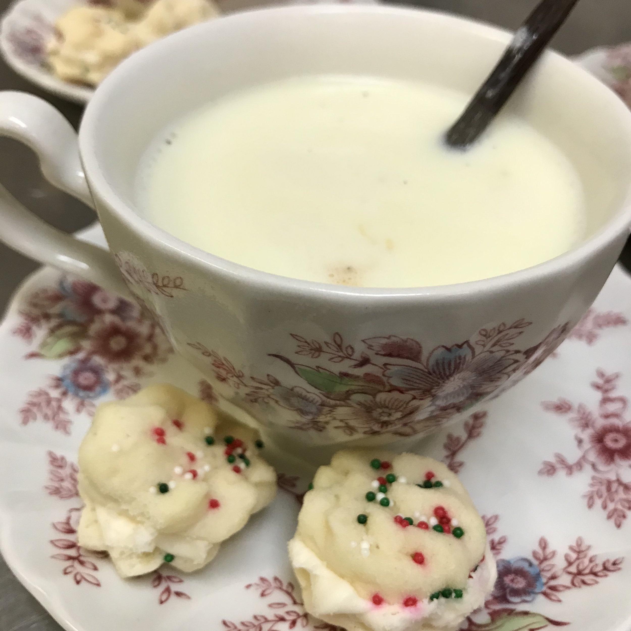 White Hot Chocolate . Barefoot Contessa Cookbook . Week 13