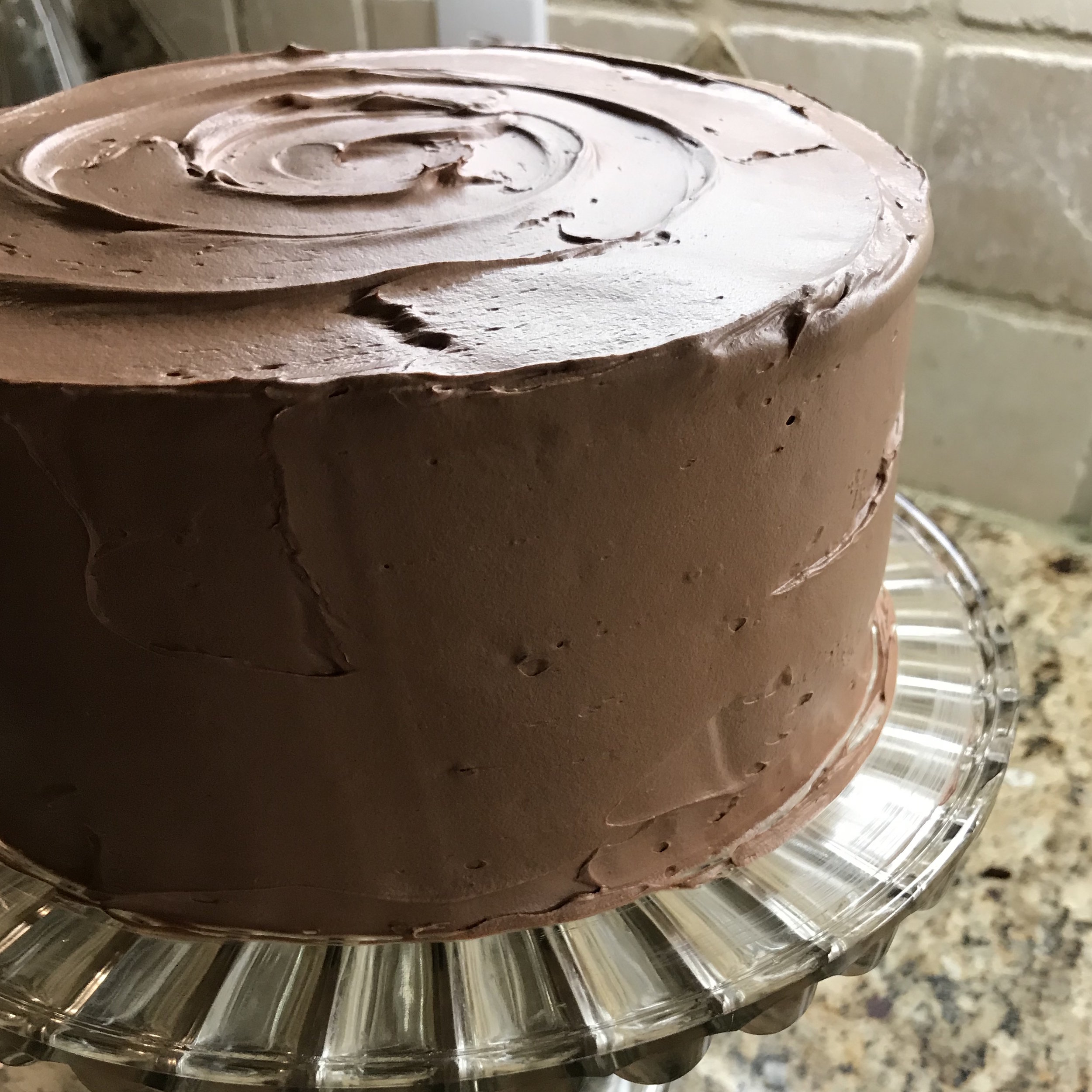 Chocolate Buttercream Cake . Barefoot Contessa Cookbook . Week 15