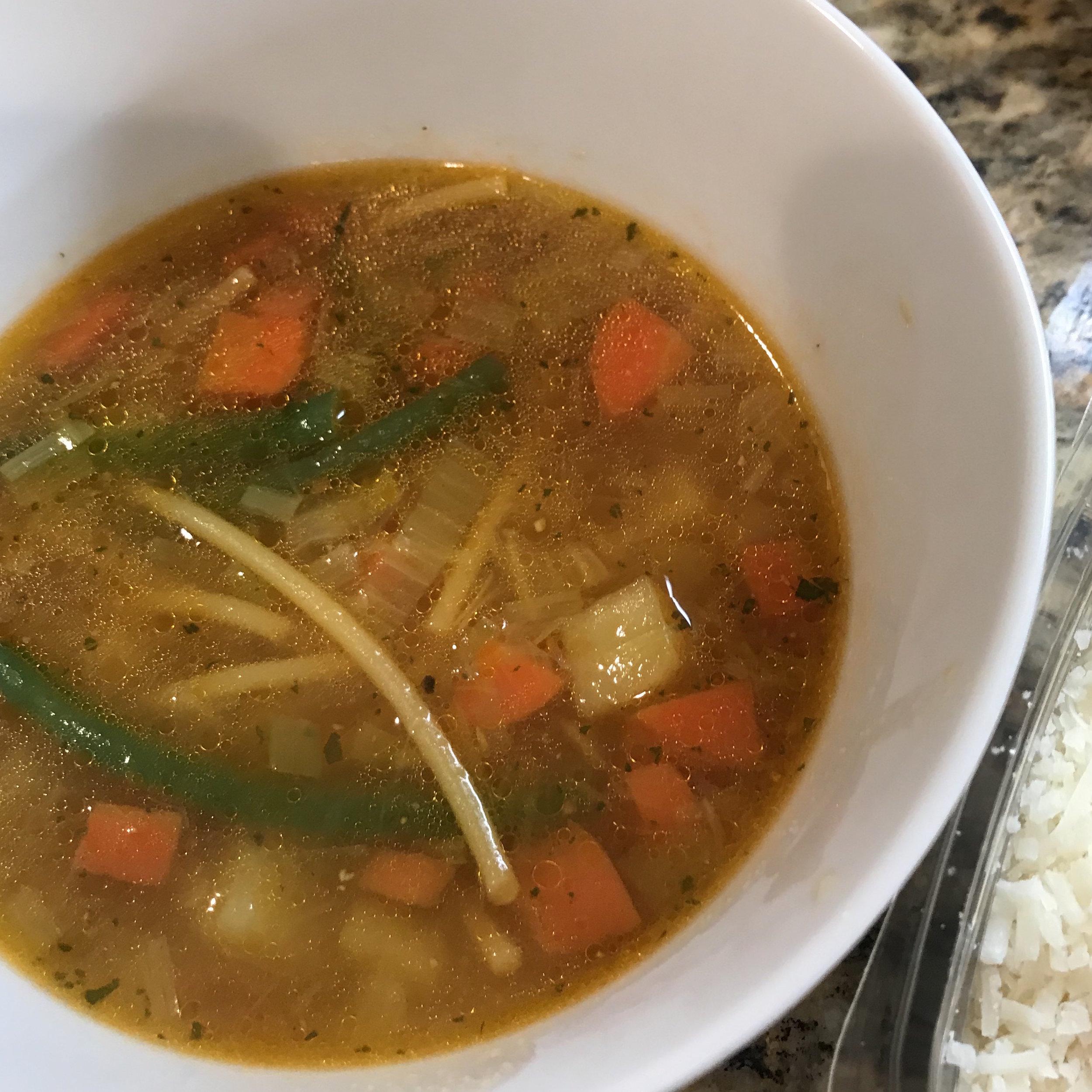 Provencal Vegetable Soup . Barefoot in Paris . Week 16