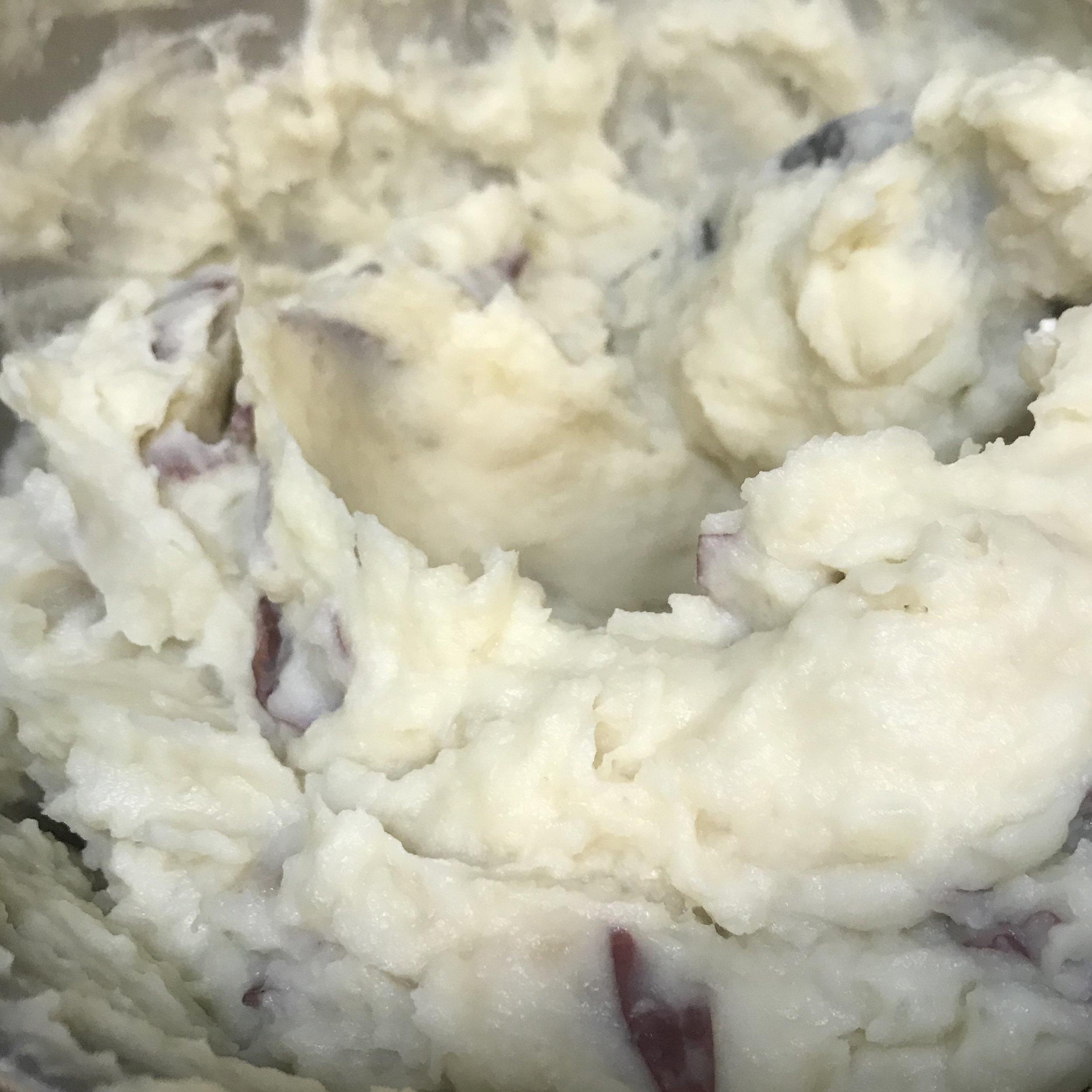 Parmesan Smashed Potatoes . Barefoot Contessa Cookbook . Week 16