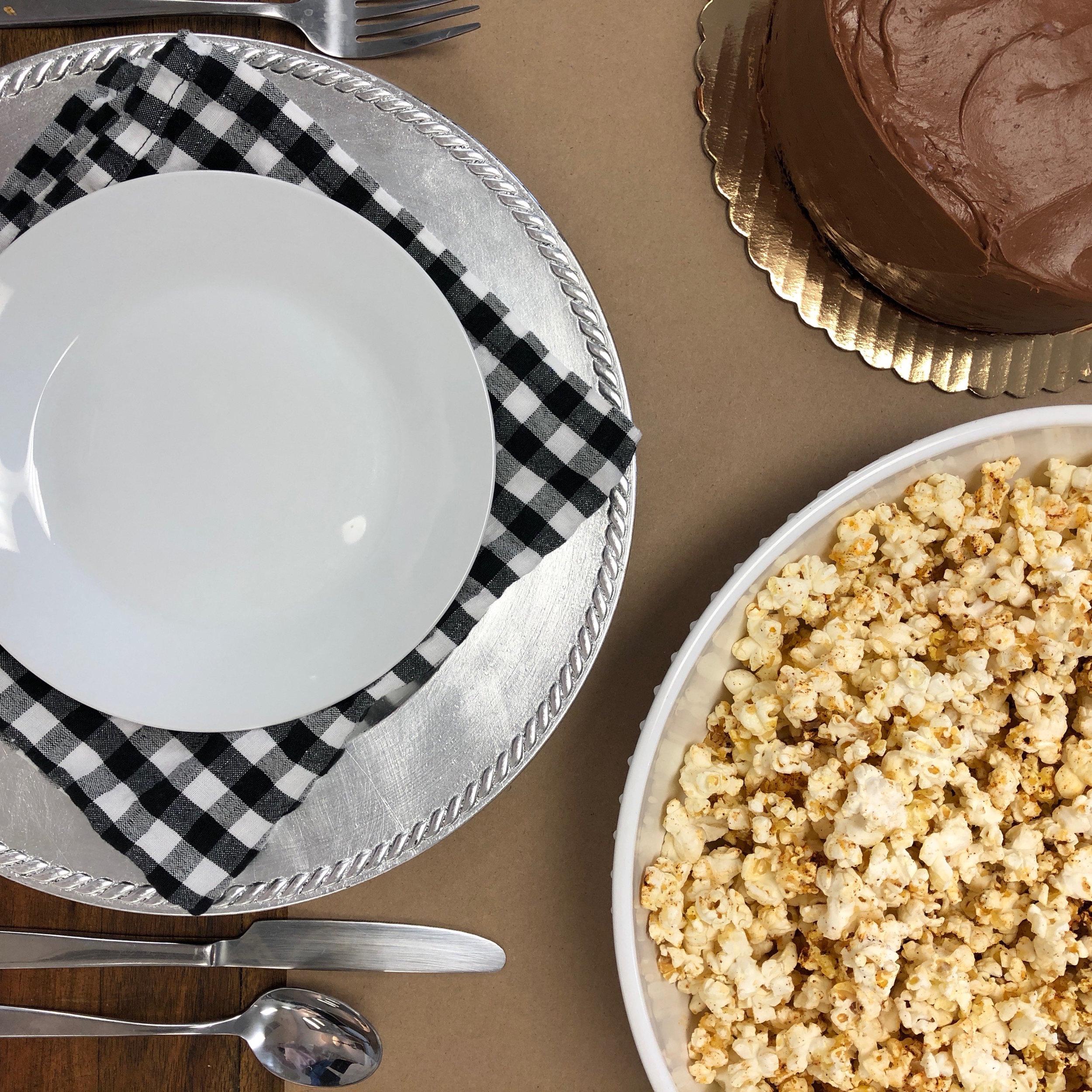 Parmesan & Chipotle Popcorn . Cooking for Jeffrey . Week 16