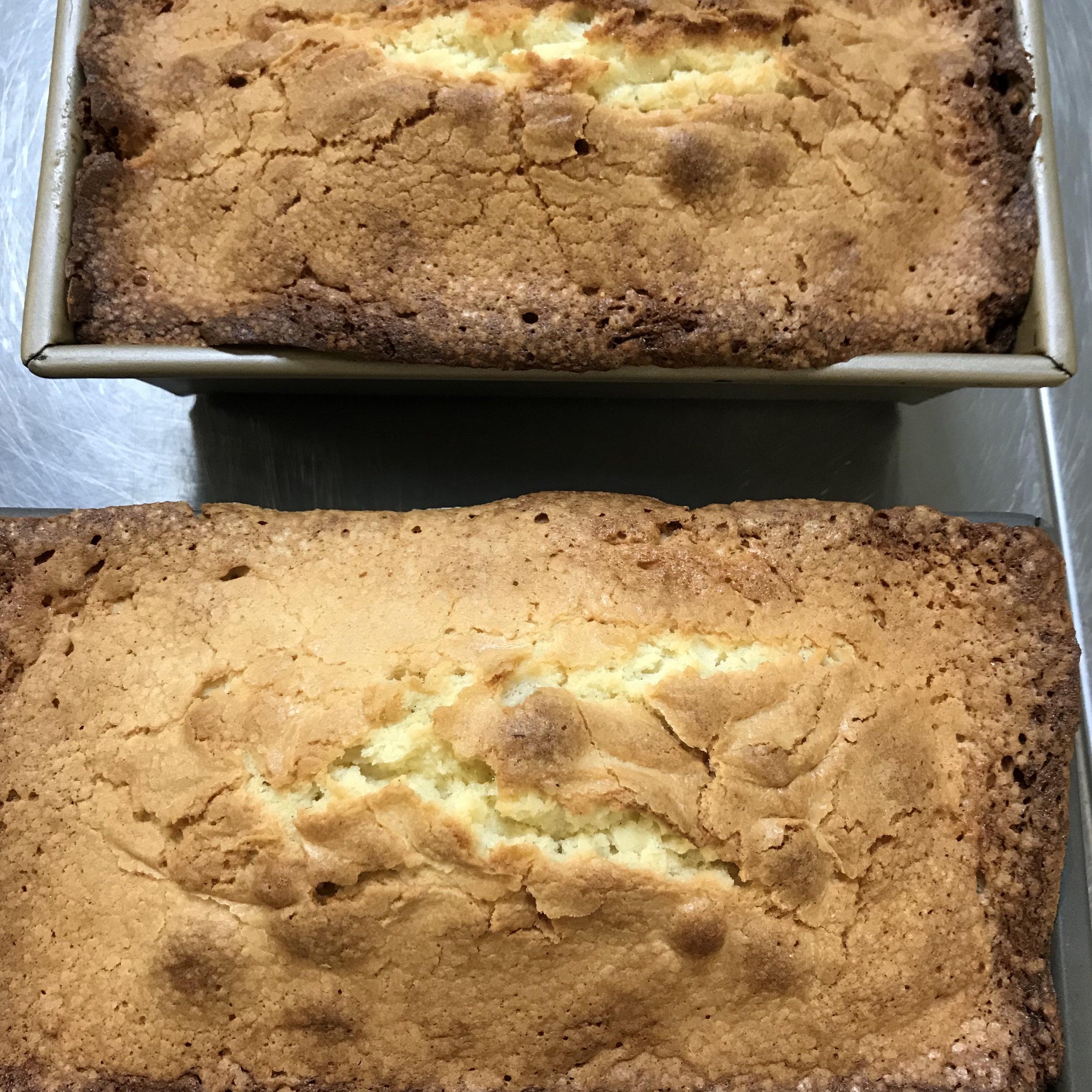 Vanilla Cream Cheese Pound Cake . Cooking for Jeffrey . Week 17