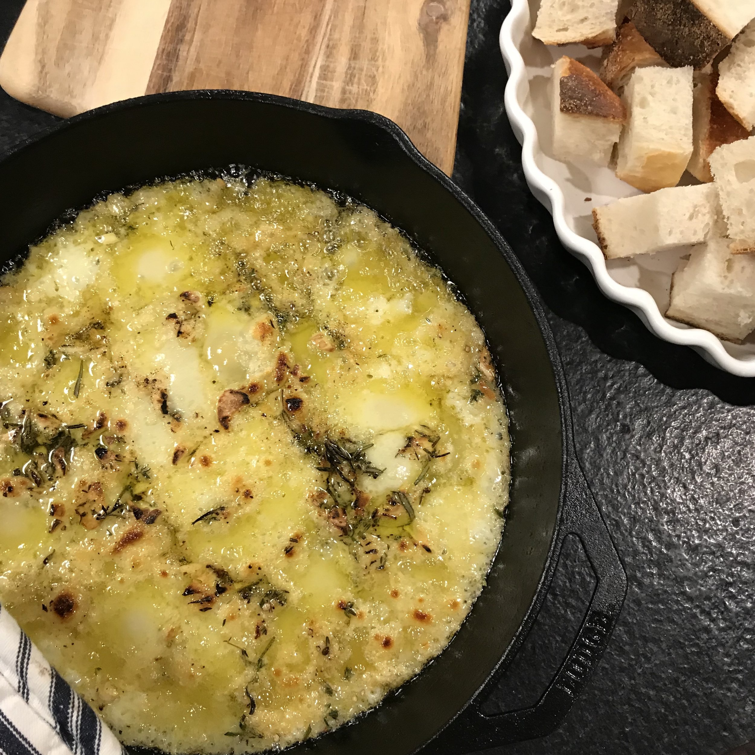 Baked Fontina . How Easy Is That? . Week 20